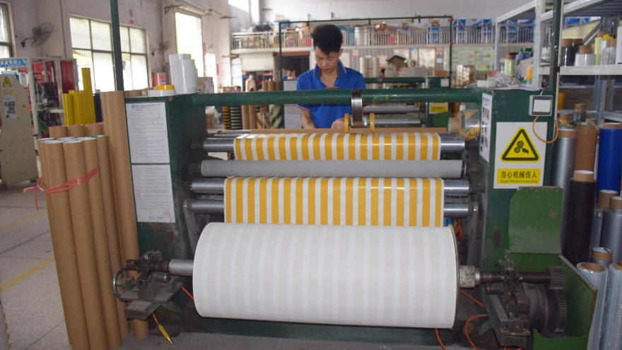 PVC防滑胶带的生产工艺-厂家带你走进车间【昆山玉寰】