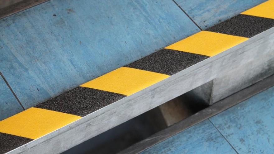 黑黄防滑胶带,防滑警示效果是不是好一点?