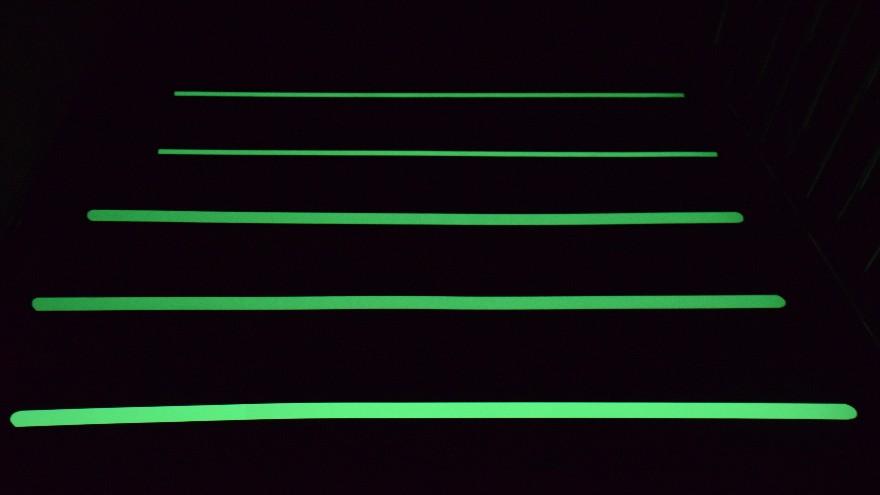 防滑胶带还能发光-夜光防滑胶带【昆山玉寰】