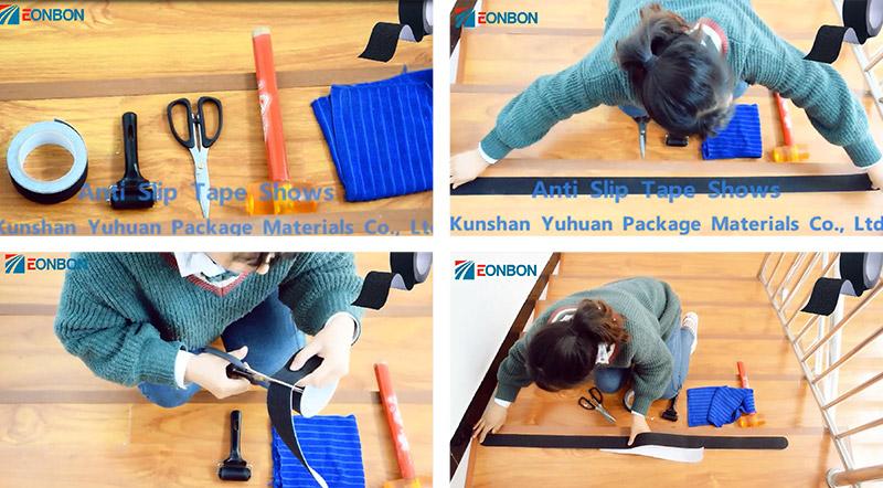 家居楼梯防滑胶带的应用定制!