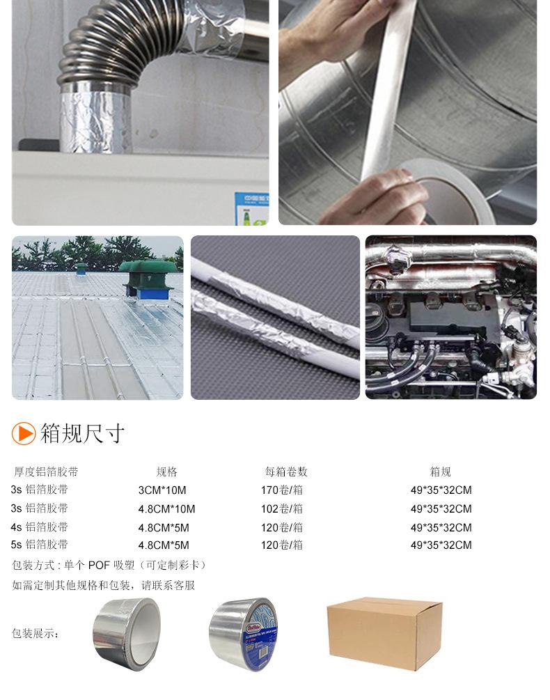 玻纤铝箔胶带应用