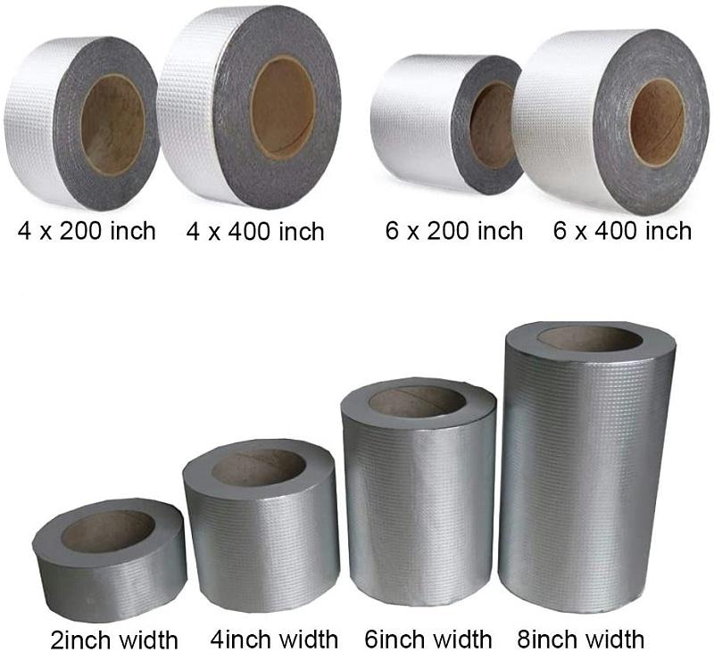 不同尺寸的防水胶带