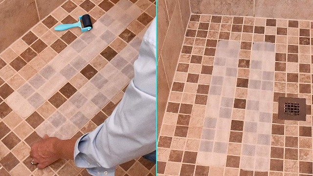 你家厕所地面还没有贴防滑胶带?太low了!