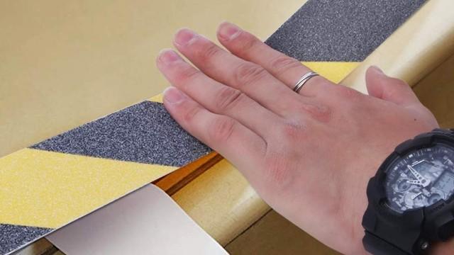 防滑胶带怎样使用?一分钟教你用好防滑胶带!