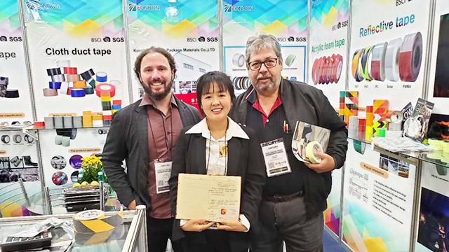 热烈祝贺公司参加巴西国际五金建材展取得圆满成功!