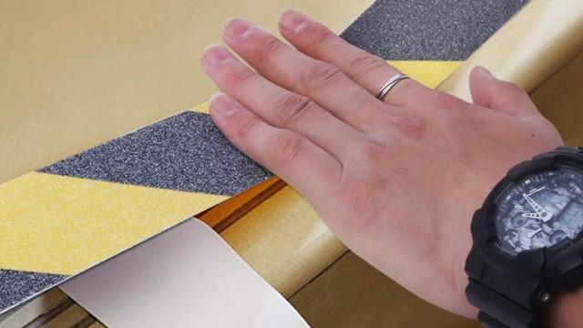 防滑胶带使用方法,厂家用一张图片教会你!